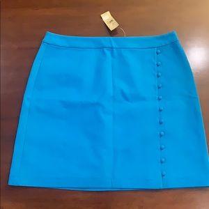 Loft skirt - NWT - blue